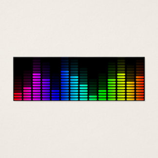 rainbow equalizer mini business card