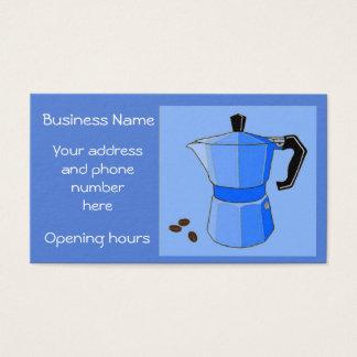 Rainbow Espresso Personalized Business Card