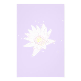 Rainbow Etching Lotus stationary Stationery