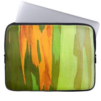 Rainbow Eucalyptus bark, Hawaii Laptop Sleeve