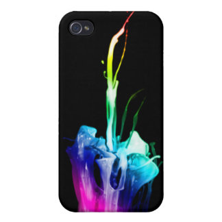 Rainbow Explosion Covers For iPhone 4