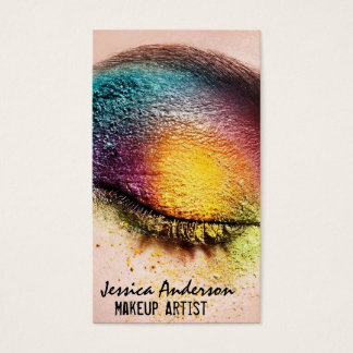 Rainbow Eyes Makeup Artist