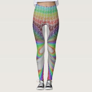 Rainbow Fairy abstract Leggings