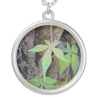 Rainbow Fairy Leaf necklace