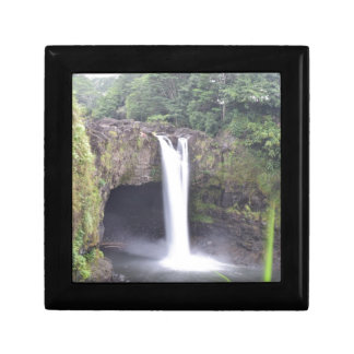 Rainbow Falls Hawaii Gift Box