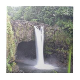 Rainbow Falls Hawaii Tile