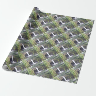 Rainbow Falls Hawaii Wrapping Paper