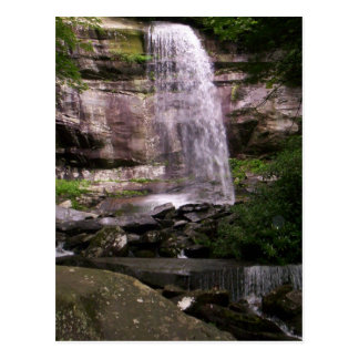 Rainbow Falls in the Great Smoky Mountains Postcard