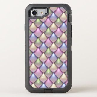 Rainbow Fantasy Scale Pattern OtterBox Defender iPhone 7 Case
