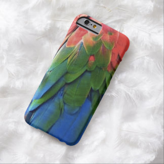 """Rainbow Feathers Phone Case"" Barely There iPhone 6 Case"