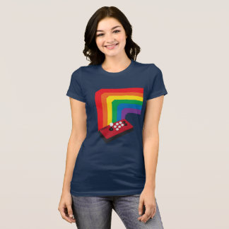 Rainbow Fight Stick T-Shirt