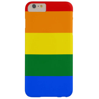 Rainbow Flag Barely There iPhone 6 Plus Case