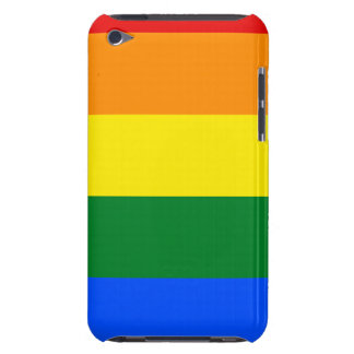 Rainbow Flag Barely There iPod Cases