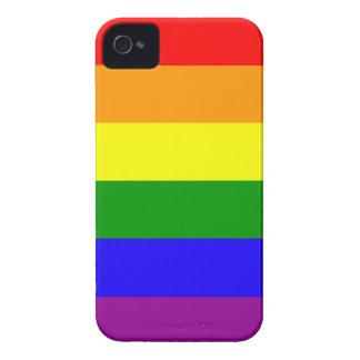 Rainbow flag Blackberry Bold case