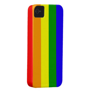 Rainbow flag Blackberry Bold case 2