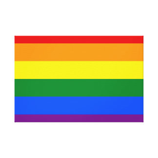 Rainbow Flag Canvas Print