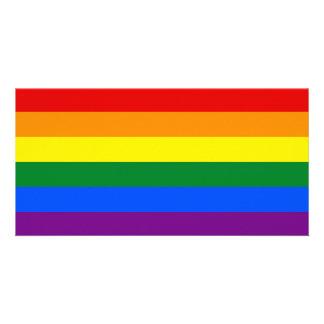 Rainbow Flag Card