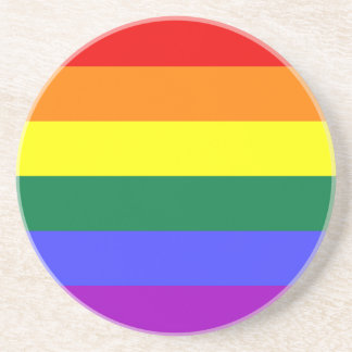 Rainbow Flag Coaster