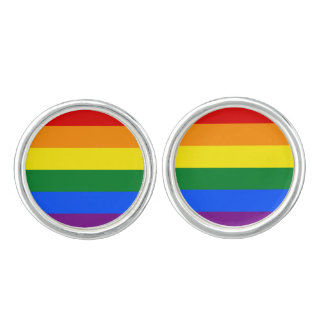 Rainbow Flag Cufflinks