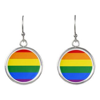 Rainbow Flag Earrings