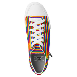 Rainbow Flag Gay Pride LGBT Love Equality Shoes