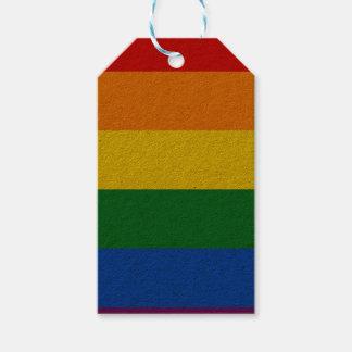 Rainbow Flag Gift Tags