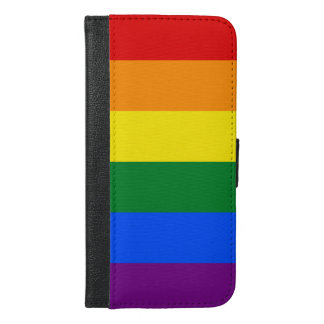 Rainbow Flag iPhone 6/6s Plus Wallet Case