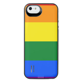 Rainbow Flag iPhone SE/5/5s Battery Case