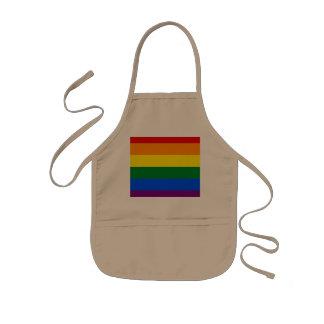 Rainbow Flag Kids Apron