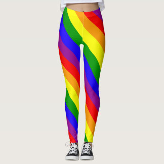 Rainbow flag leggings