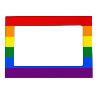 Rainbow Flag Magnetic Frame