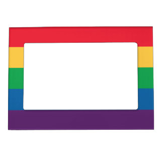 Rainbow Flag Magnetic Photo Frame