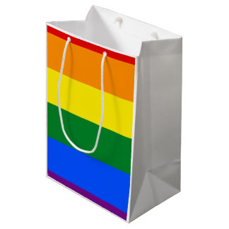 Rainbow Flag Medium Gift Bag