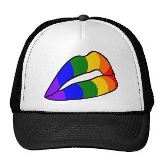 RAINBOW FLAG MESH HAT