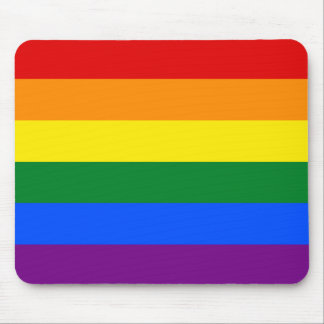 Rainbow Flag Mouse Pad