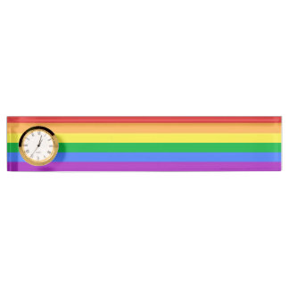 Rainbow Flag Nameplates