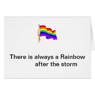Rainbow Flag Note Card