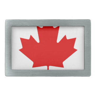 Rainbow Flag of Canada Rectangular Belt Buckles