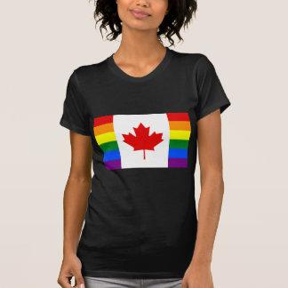 Rainbow Flag of Canada T-Shirt