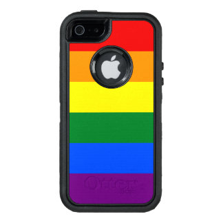 Rainbow Flag OtterBox Defender iPhone Case