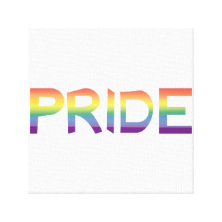Rainbow Flag Pride Canvas Print