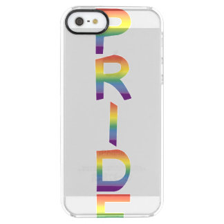 Rainbow Flag Pride Clear iPhone SE/5/5s Case