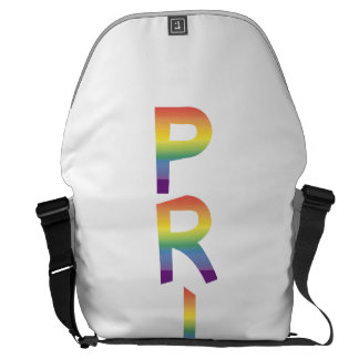 Rainbow Flag Pride Courier Bag