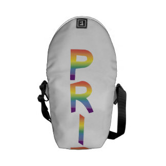 Rainbow Flag Pride Courier Bags