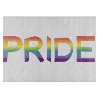 Rainbow Flag Pride Cutting Board