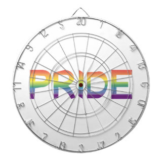 Rainbow Flag Pride Dartboard