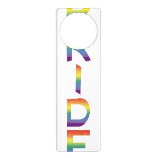 Rainbow Flag Pride Door Hanger