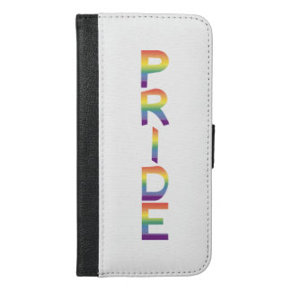 Rainbow Flag Pride iPhone 6/6s Plus Wallet Case