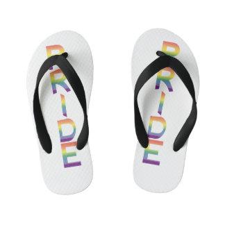 Rainbow Flag Pride Kid's Thongs