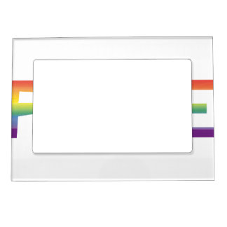 Rainbow Flag Pride Magnetic Picture Frame